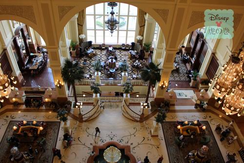 ディズニーランドホテル ラウンジ