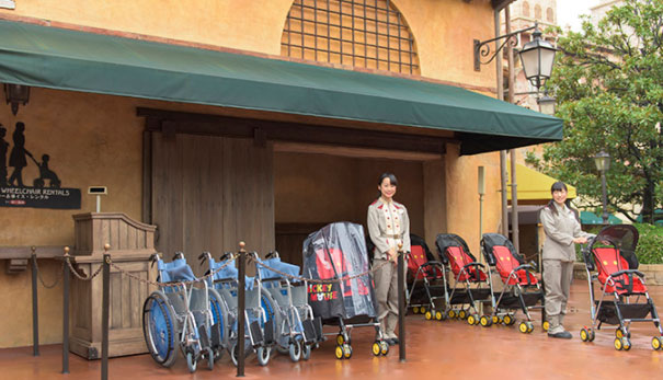 ディズニー 車椅子 レンタル