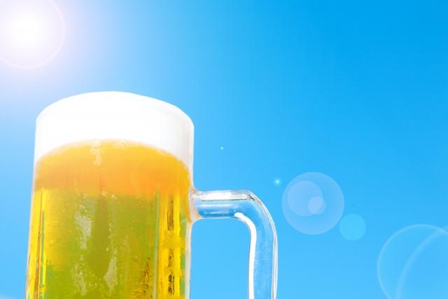ランドでビール