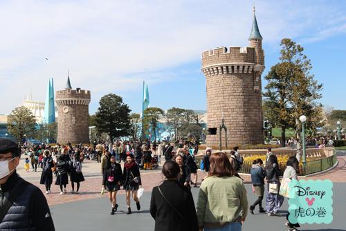 シンデレラ城 塔